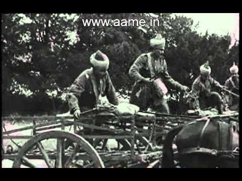 Indian Army Soldiers During World War II Fighting The Axis Powers In Europe And Africa