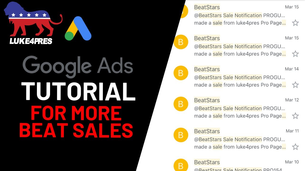 How To Create Google Ads For Your Beat Selling Business Part 1: Setting Up Your Google Ads Campaign