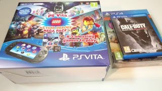 PlayStation Vita Unboxing (PCH-2016)