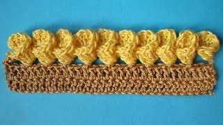 Crochet border  Красивая кайма -  вязание крючком