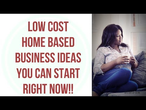 Home Based Business Ideas To Start From Home with Low Investment in 2019