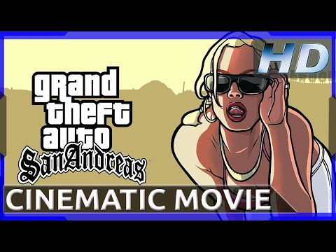 Grand Theft Auto: San Andreas - PS4 Emulation - Cinematic Movie (1080p HD)