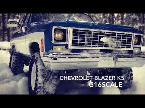 RC Scale Studio 4x4 Off-road Scale Model RC4WD Chevrolet Blazer K5 Forest Run