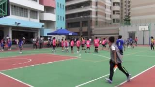 2016全港閃避球錦標賽小學男子組(初) 龍創體育會對九龍婦