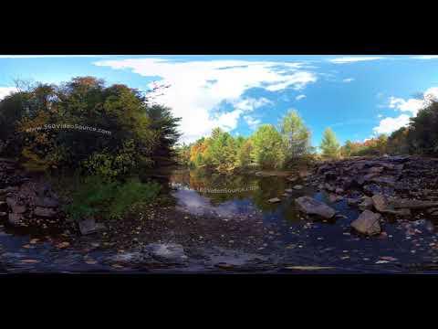 Pennsylvania Fall Scenic Stream watermarked