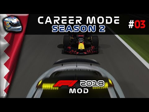 F1 2018 mod Career - Round 3: Bahrain - SAFETY FIRST... TWICE!?