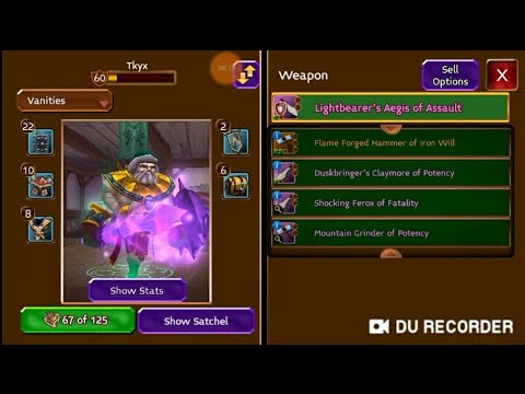 Arcane Legends   How To Get Good Merch !!!!