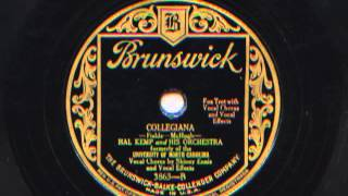 Collegiana by Hal Kemp and his Orchestra, 1928