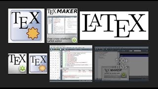 tutorial texmaker latex español parte 1