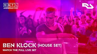 BEN KLOCK [House Set] | Live set at DGTL Amsterdam 2019 - Gain by RA stage