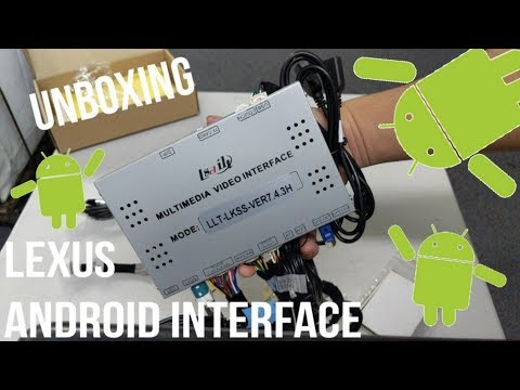 Lexus Android 6.0 Car Interface  |  Lsailt  |  Unboxing