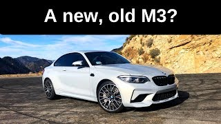 2019 BMW M2 Competition: The new E46? - One Take