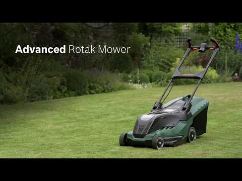 Bosch AdvancedRotak: How to unfold and adjust the handle