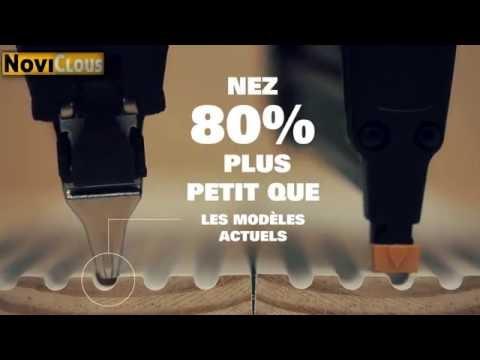 NOVICLOUS - Démonstration de la gamme de cloueurs  SMARTPOINT  BOSTITCH