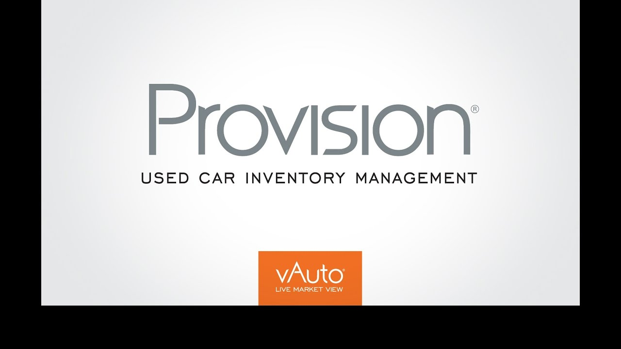 Provision Suite Used Car Inventory Management Software Youtube