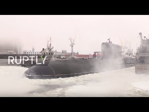 Russia: Podmoskovye nuclear submarine joins Northern Fleet in Severodvinsk