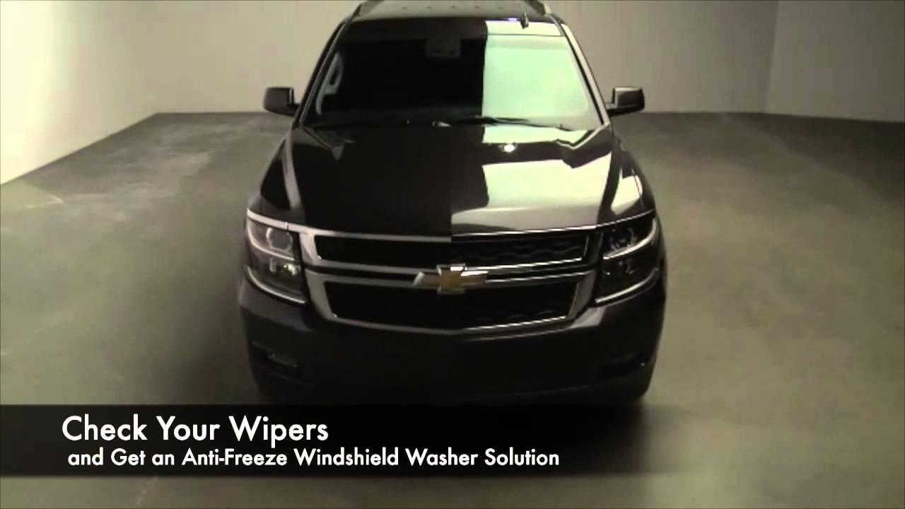 2014 Chevrolet Tahoe: Houston Winter Service Tips