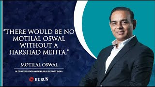 Harshad Mehta bull run in 1992 : Motilal Oswal shares his experience