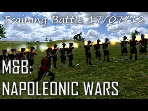 M&B: Napoleonic Wars - Training Battle Highlights 17/07/12 (92nd Gordon Highlanders)