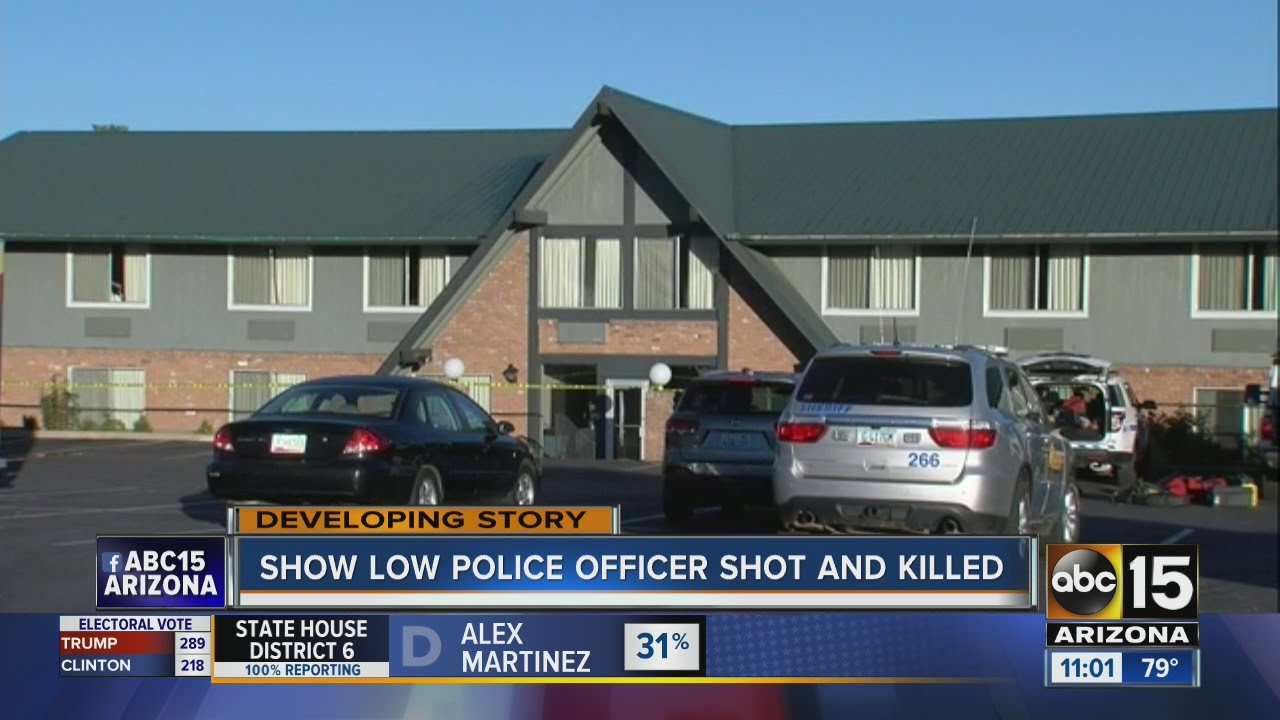 Latest Suspect Shot And Killed After Killing Show Low PD Officer - Car dealerships in show low az