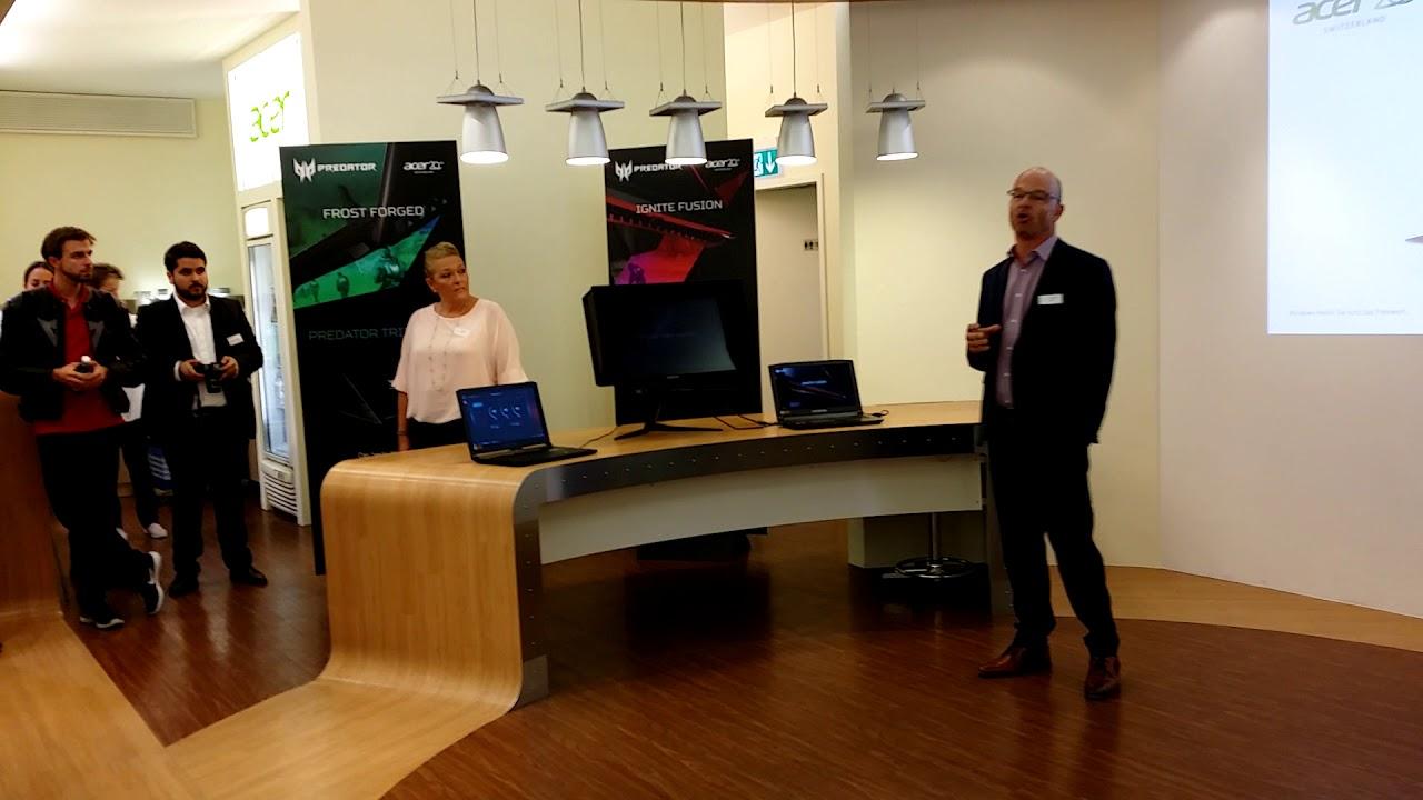 Ansprache Von Thomas Berli CEO Acer Schweiz Zum 20 Geburtstag