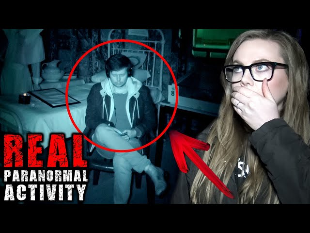 Paranormal Activity Captured on HAUNTED SHIP   Touched + Figure Appears