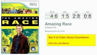 Amazing Race Wii Countdown