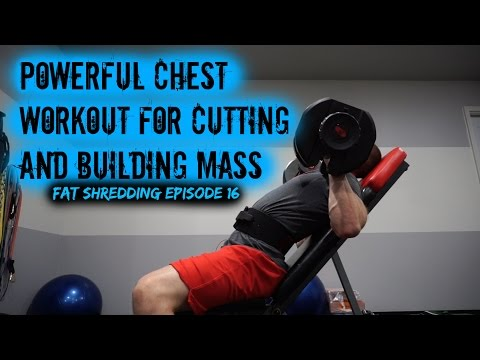 Powerful Chest Workout For Cutting And Building Mass (Fat Shredding Ep. 16) Jonathan Walseman