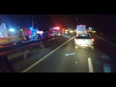 Accidente en Llay Llay deja 4 personas fallecida / Ahora Noticias Matinal - 12 de septiembre