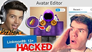 PRESTON HACKED ME.... (La verità)?! -Linkmon99 ROBLOX
