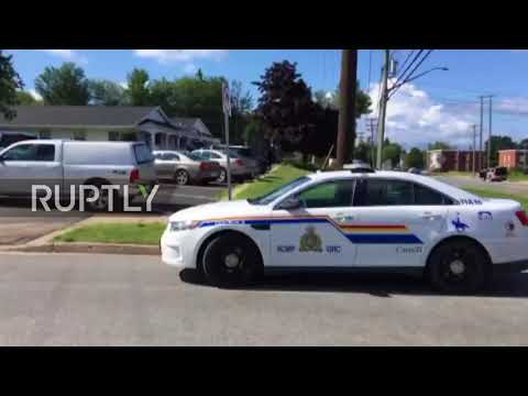 Canada: Two police among four dead in Fredericton shooting