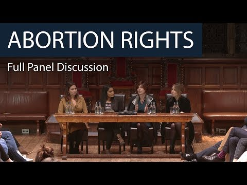 Abortion Rights | Full Panel Discussion | Oxford Union