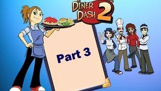 Diner Dash 2: Restaurant Rescue - Gameplay Part 3 (Level 7 to 8)