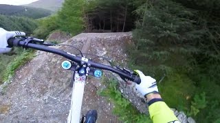 Gee Atherton Tests INSANE MTB Trail: GoPro View - Red Bull Hardline