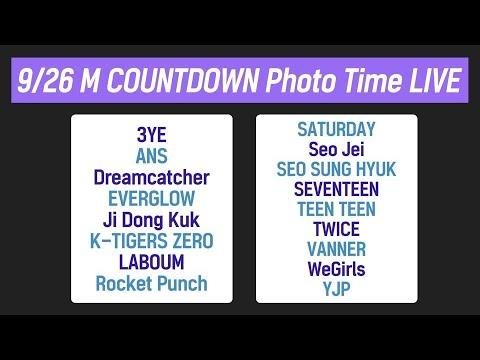 190926 M COUNTDOWN Photo Time LIVE!