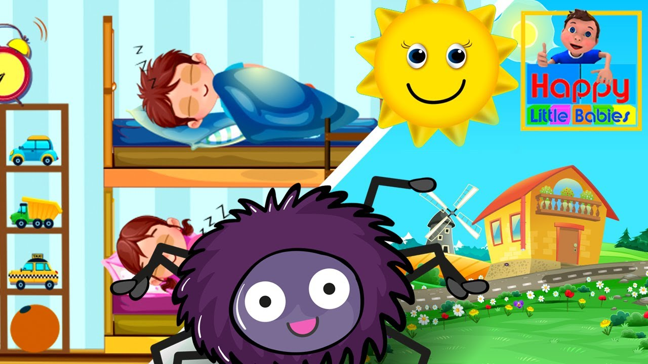 Incy Wincy Spider and Are You Sleeping Brother John |kids songs |children songs |Happy Little Babies