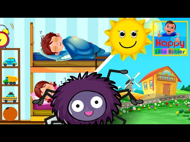 Incy Wincy Spider and Are You Sleeping Brother John  kids songs  children songs  Happy Little Babies