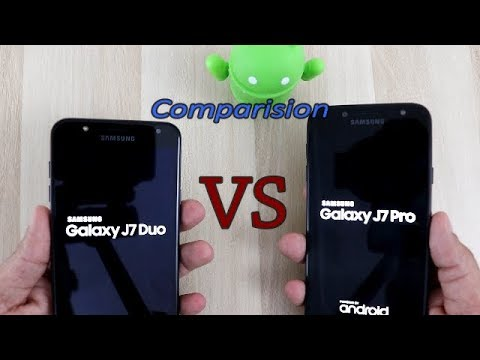 Samsung Galaxy J7 Duo 2018 Vs Samsung J7 Pro Comparision Speed