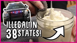 Made Ice Cream w/ an ILLEGAL Ingredient! What Happened?