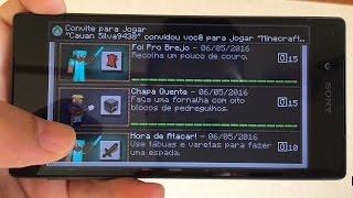 Minecraft PE 0.15.1 NOVO MODO Multiplayer nunca mais JOGUE sozinho ‹ KAMYKAZEPLAY ›