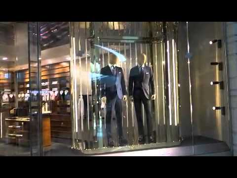 Luxury Shopping at Crystals Las Vegas