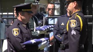 Raw Footage: Graveside service for Sgt. Greg Moore