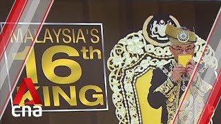 Pahang's Sultan Abdullah installed as Malaysia's 16th King