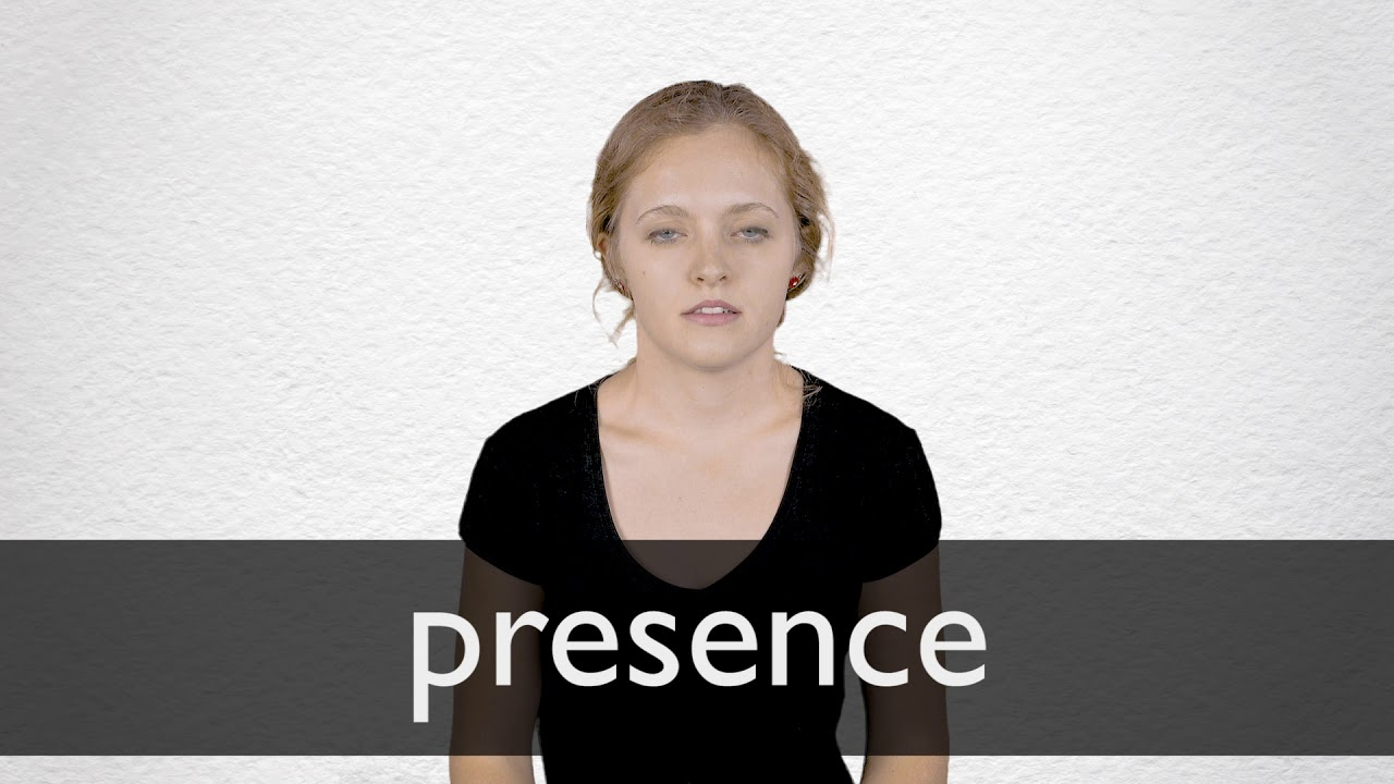 Presence Synonyms | Collins English Thesaurus