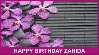 Zahida   Birthday Spa - Happy Birthday