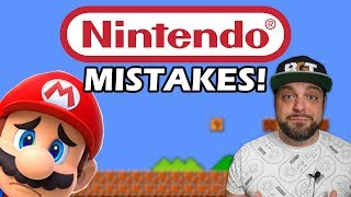 The BIGGEST Mistakes Nintendo Has EVER Made!