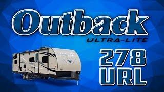 2017 keystone outback ultra lite 278url travel trailer lakeshore rv