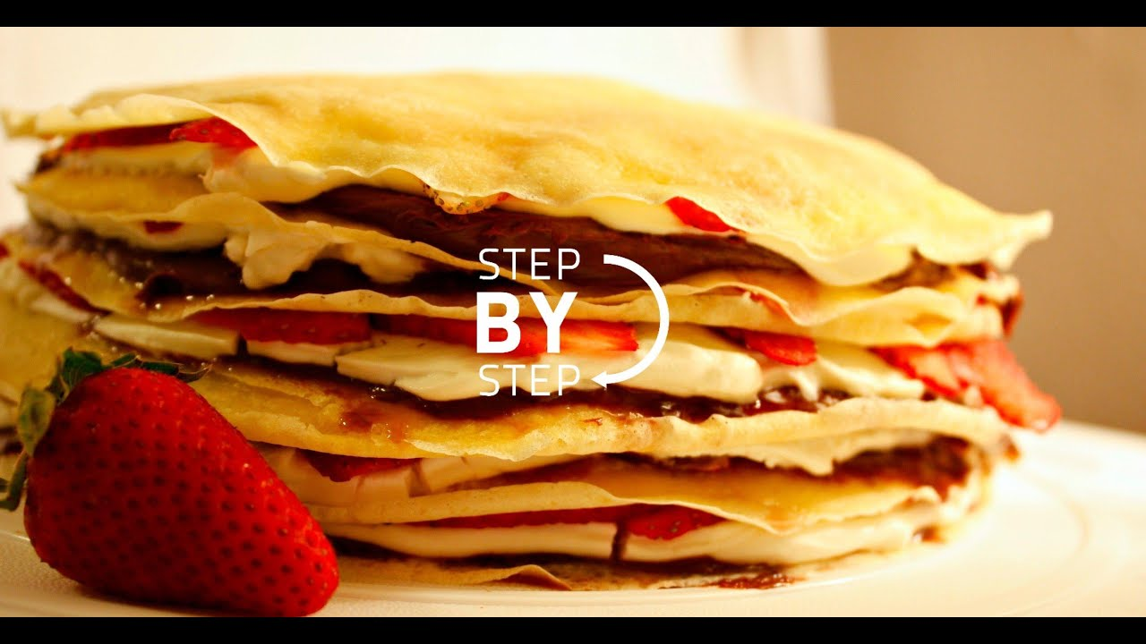 How To Make A Nutella Crepe Cake
