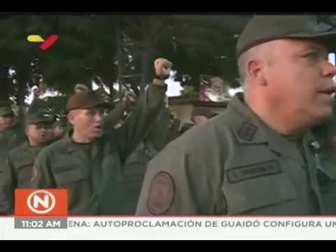 Jefes de 8 regiones militares (Redi) de Venezuela ante autoproclamación de Guaidó como Presidente