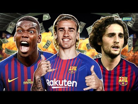 7 Pemain Incaran Barcelona di Bursa Transfer Januari 2019 - RUMOR TRANSFER